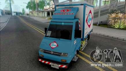 Sweeper Minitruck for GTA San Andreas