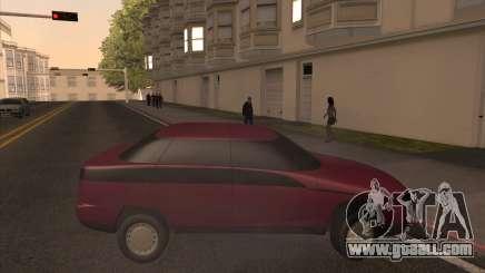 Moskvich Yauza for GTA San Andreas