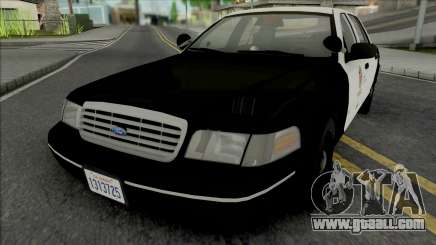 Ford Crown Victoria 1998 CVPI LAPD GND for GTA San Andreas