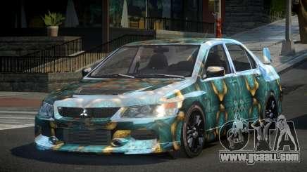 Mitsubishi Evo IX BS-U S6 for GTA 4