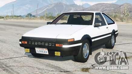 Toyota Sprinter Trueno GT-Apex (AE86) 1983〡add-on v4.2.6 for GTA 5