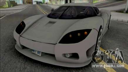 Koenigsegg CCX v2 for GTA San Andreas