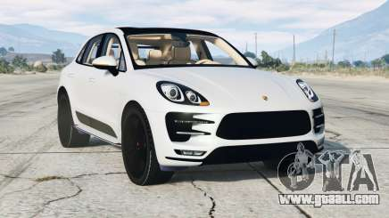 Porsche Macan Turbo (95B) 2015 for GTA 5