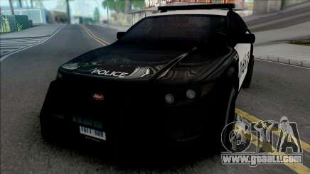 Vapid Torrence Police San Fierro v2 for GTA San Andreas