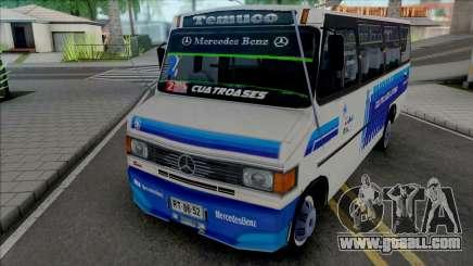 Mercedes-Benz LO-814 Cuatro Ases Leyenda v2 for GTA San Andreas