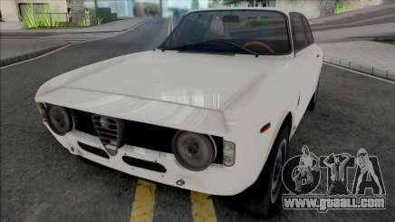 Alfa Romeo Giulia Sprint GTA 1965 for GTA San Andreas