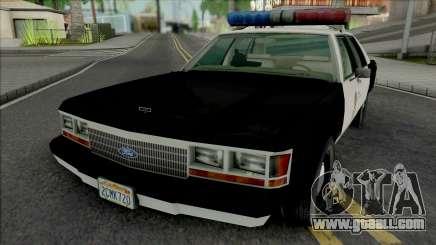 Ford LTD Crown Victoria 1992 LAPD for GTA San Andreas