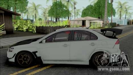 Mitsubishi Lancer Evolution X (Tuning) for GTA San Andreas