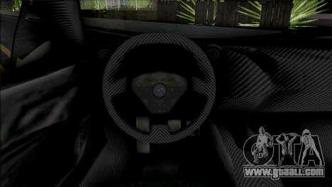 McLaren P1 2013 for GTA San Andreas
