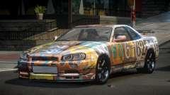 Nissan Skyline R34 PS-I S9 for GTA 4