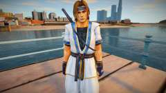 Dead Or Alive 5 - Hayate (Costume 2) for GTA San Andreas
