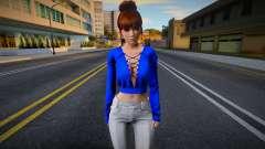 Kasumi Casual v14 (good model) for GTA San Andreas