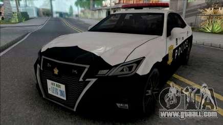 Toyota Crown Athlete 2016 Patrol Car for GTA San Andreas