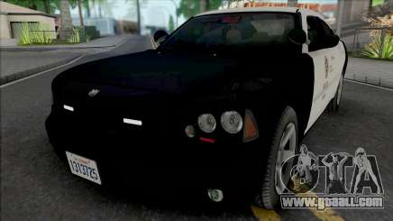 Dodge Charger 2007 LAPD GND for GTA San Andreas