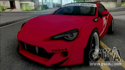 Toyota GT86 Red for GTA San Andreas