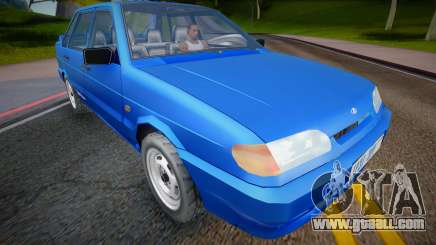 2001 VAZ 2115 (Low Poly) for GTA San Andreas