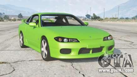 Nissan Silvia Spec-R Aero (GF-S15) 1999〡add-on for GTA 5