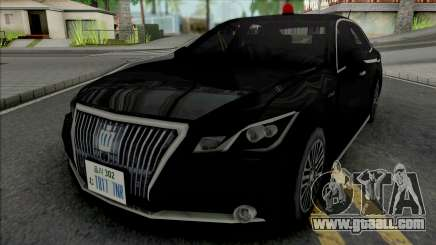 Toyota Crown Majesta 2014 Unmarked Patrol Car for GTA San Andreas