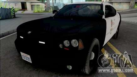 Dodge Charger 2007 LAPD GND v2 for GTA San Andreas