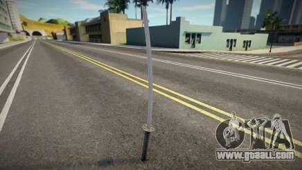 Quality Katana for GTA San Andreas