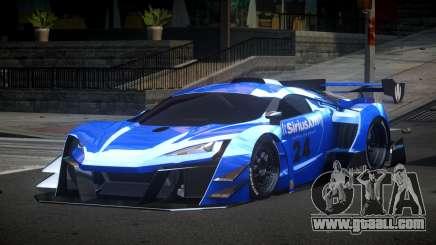 Lykan GT3 for GTA 4