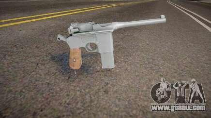 Mauser C-96 (good model) for GTA San Andreas