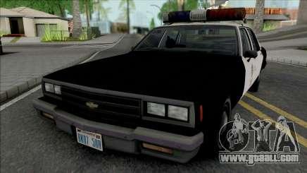 Chevrolet Impala 1986 LAPD for GTA San Andreas