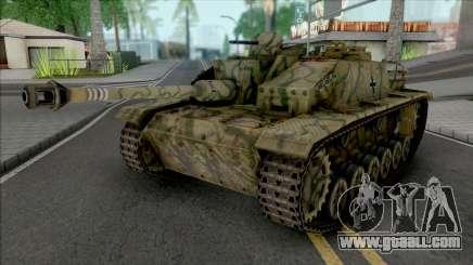 StuG III for GTA San Andreas