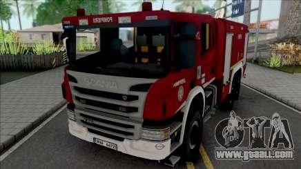 Scania P450 Pompierii for GTA San Andreas