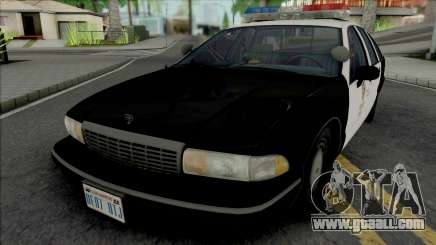 Chevrolet Caprice 1992 LAPD for GTA San Andreas