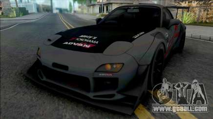 Mazda RX-7 FD3S FEED Afflux GT3 Aero Kit for GTA San Andreas