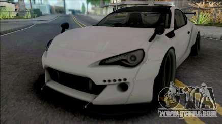 Toyota GT86 White for GTA San Andreas