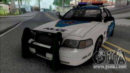 Ford Crown Victoria 2008 Palm City Police for GTA San Andreas