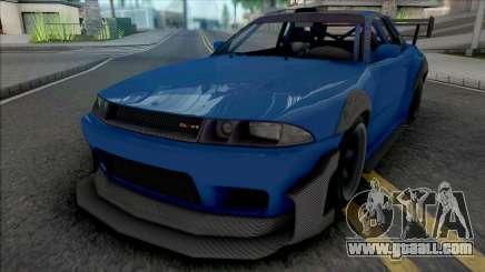 GTA V Annis Elegy Retro v3 for GTA San Andreas