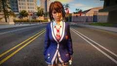 DOAXVV Tsukushi - Autumn School Wear 1 for GTA San Andreas
