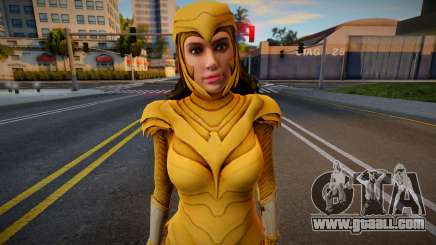 Wonder Woman 1984: Golden Eagle Armor (Without W for GTA San Andreas