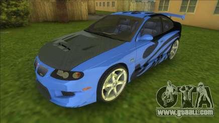 NFSMW Pontiac GTO Rog for GTA Vice City