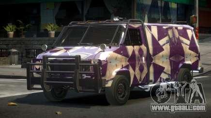 Chevrolet Van Custom S2 for GTA 4