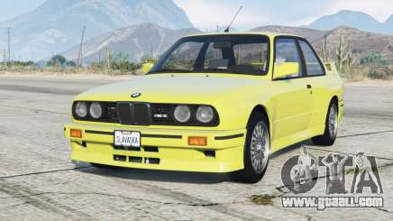 BMW M3 (E30) 1991〡add-on for GTA 5
