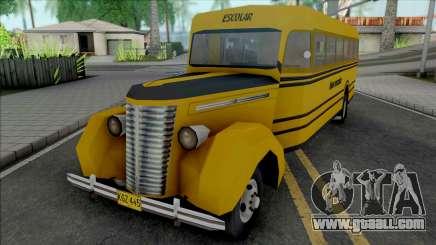 Chevrolet 1940 Bus for GTA San Andreas