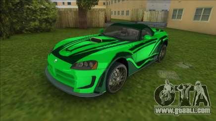 NFSMW Dodge Viper JV for GTA Vice City