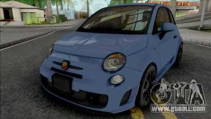 Fiat 500 Abarth 2014 SA Style for GTA San Andreas