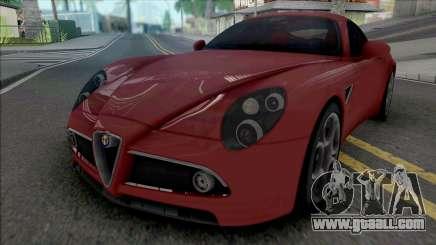 Alfa Romeo 8C Competizione 2007 IVF Style for GTA San Andreas
