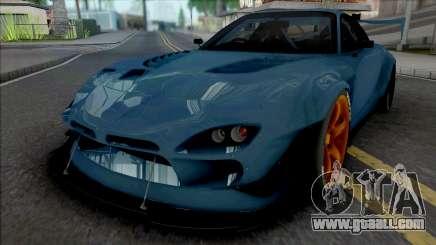 Mazda RX-7 BLS BN Sports for GTA San Andreas