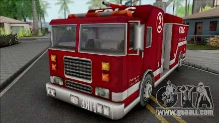 GTA III Firetruck for GTA San Andreas