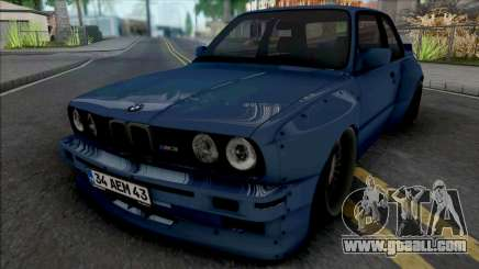 BMW M3 E30 Pandem (34 AEM 43) for GTA San Andreas