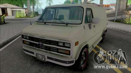 Chevrolet Van G20 [HQ] for GTA San Andreas