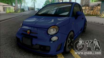 Fiat 500 Abarth 2014 IVF Style for GTA San Andreas