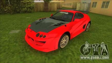 NFSMW Toyota Supra for GTA Vice City