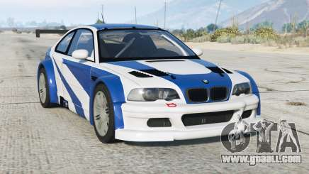 BMW M3 GTR (E46) Most Wanted〡add-on v2.2b for GTA 5